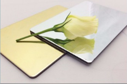 Mirror surface treatment aluminium composite panel for wall cladding