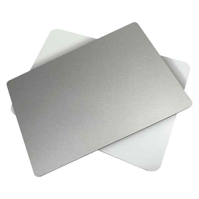 ACP sheet/aluminum composite material suppliers/aluminum cladding panels in silver color and special color