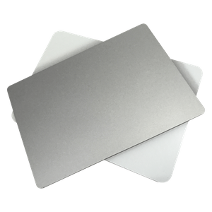 Brush ACP Sheet/material acm/alu composite with silver brushed color