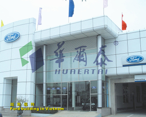ACP colours/aluminium acp/acp panel building design with customized by Huaertai