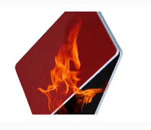 Heat resistant drywall/fire rated insulated metal panels/fire rated drywall assemblies with PVDF alloy 3003