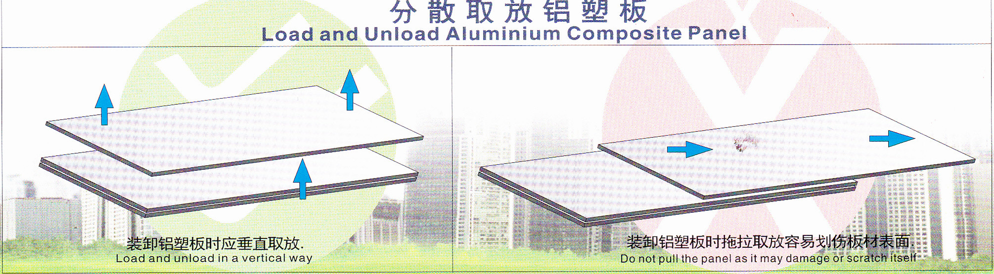 load and unload aluminium composite panel.jpg