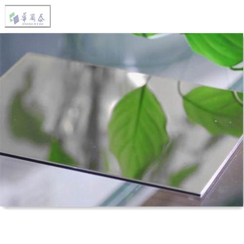 Mirror aluminium composite panel ACP/ACM 4*0 4 - Buy Mirror