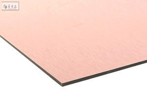 Brush aluminium composite panel ACP/alucobond 4mm